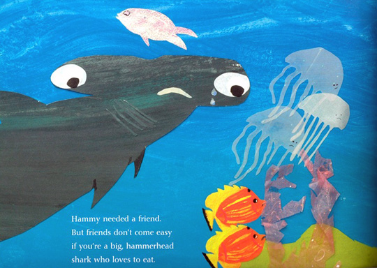 Even Sharks Need Friends by Elaine Pease